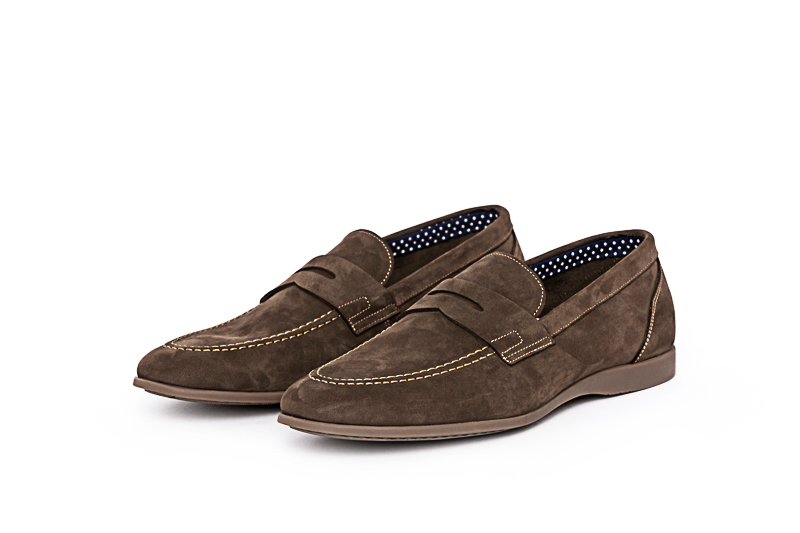 Distilo - Loafer Nobuck Brown
